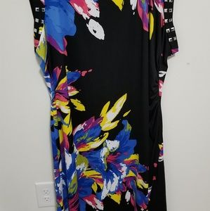 NWT multicolored Floral Dress
